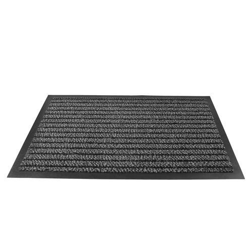 Doortex Ultimat Entrance Mat Indoor Use Nylon Monofilaments 1200x1800mm Grey Ref FC4120180ULTGR
