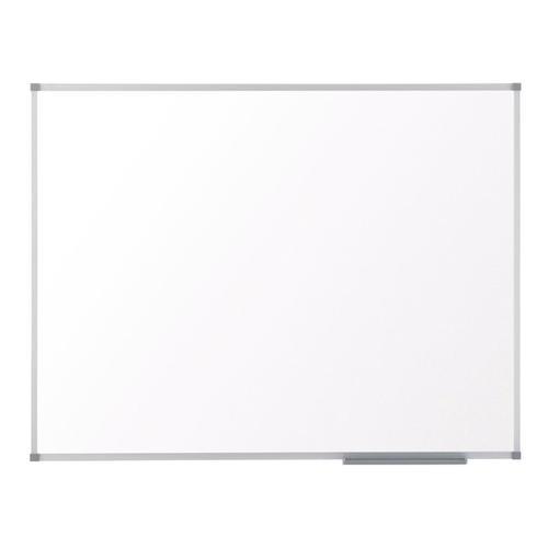 Nobo Classic Nano Drywipe Board Magnetic Steel with Fixings Slim Frame W1500xH1000mm White Ref 1902644