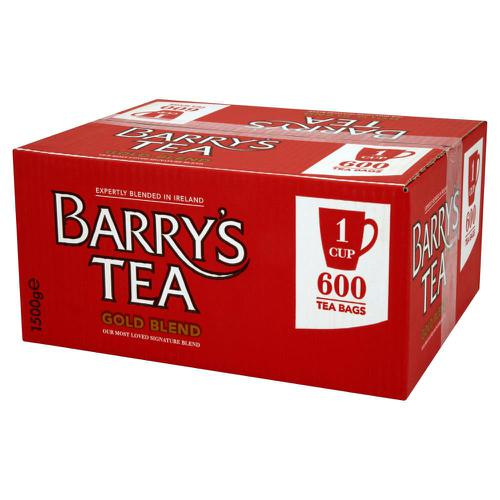 Barrys Gold Label 1 Cup Tea Bags [Pack 600]