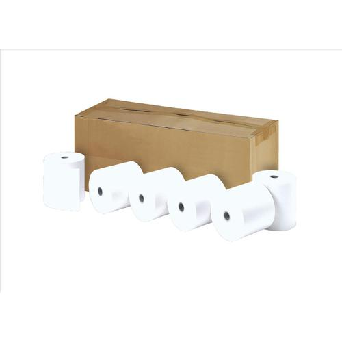 Printer Rolls Thermal 1 Ply W57xDiam50xCore12.7mm 27m [Pack 20]