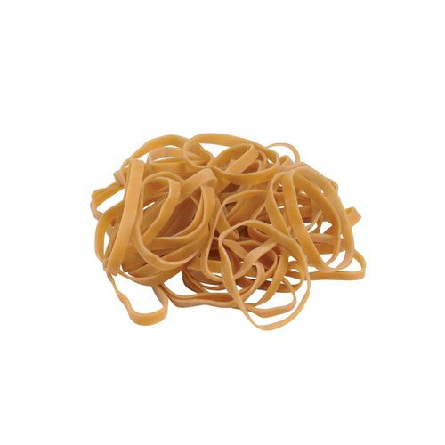 5 Star Office Rubber Bands No.63 Each 76x6mm Approx 400 Bands [Bag 0.454kg] by The OT Group, 29645X