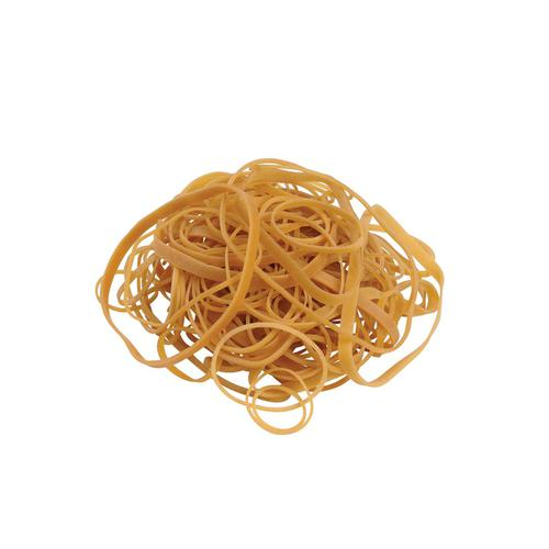 5 Star Office Rubber Bands Assorted Sizes [Bag 0.454kg]