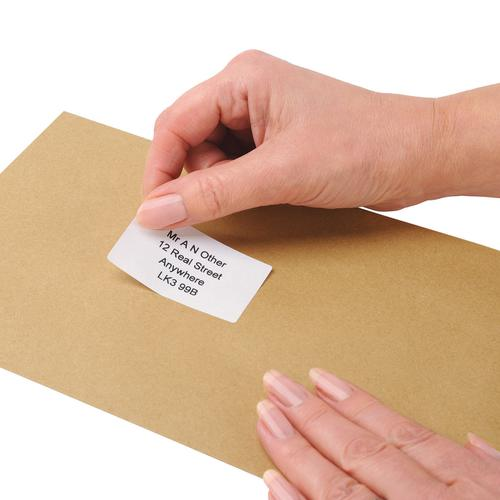 5 Star Office Address Labels 89x36mm on Continuous Roll [250 Labels] by The OT Group, 296735