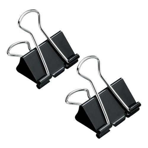 5 Star Office Foldback Clips 32mm Black [Pack 12] by The OT Group, 296875