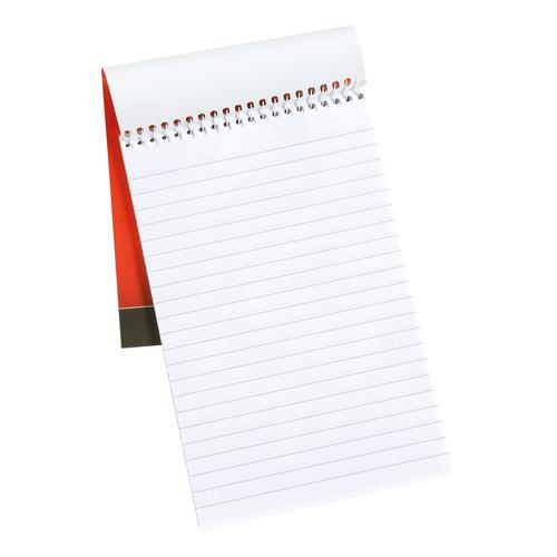 5 Star Office Shorthand Pad Wirebound 60gsm Ruled 160pp 127x200mm Red [Pack 10] by The OT Group, 297595