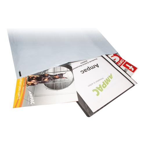 Keepsafe Envelope Extra Strong Polythene Opaque W600xH700mm Peel & Seal Ref KSV-MO8 [Box 50]