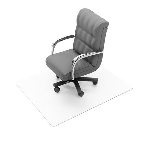 Cleartex Ultimat Chair Mat Rectangular Carpet Protection 1200x1500mm Clear Ref FC1115223ER