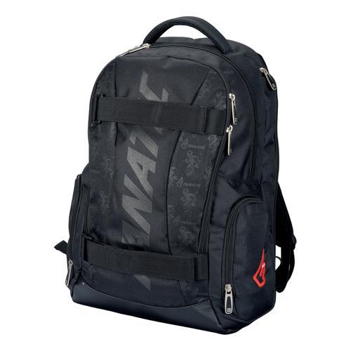Lightpak Hawk Laptop Backpack Padded Polyester Capacity 14in Black Ref 24603