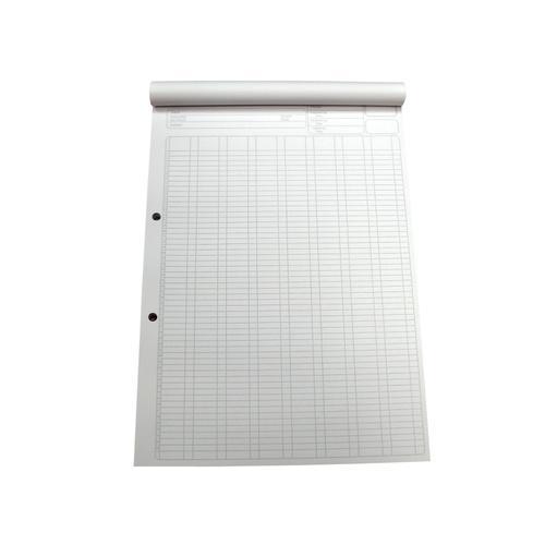 5 Star Office Analysis Pad 8 Cash Column 80 Sheets A4