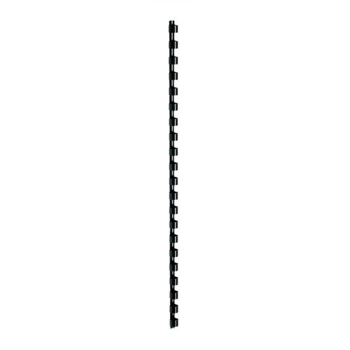 5 Star Office Binding Combs Plastic 21 Ring 65 Sheets A4 10mm Black [Pack 100]