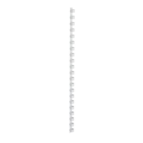 5 Star Office Binding Combs Plastic 21 Ring 95 Sheets A4 12mm White [Pack 100]