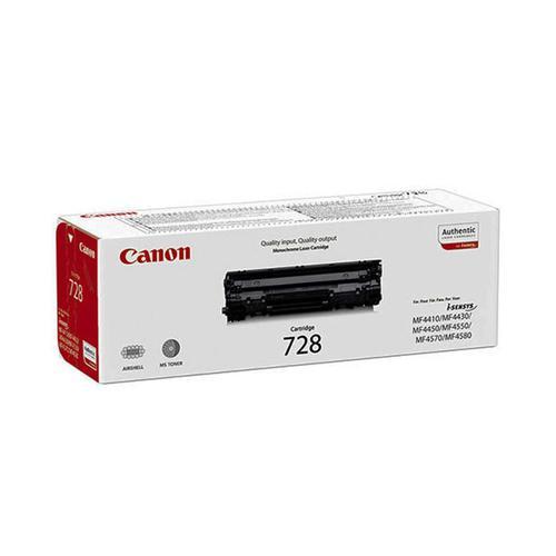Canon CRG-728 Laser Toner Cartridge Page Life 2100pp Black Ref 3500B002