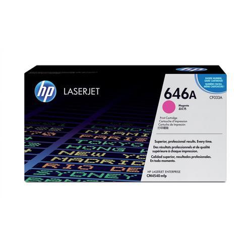 HP 646A Laser Toner Cartridge Page Life 12500pp Magenta Ref CF033A