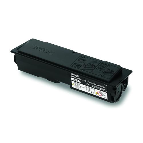 Epson S050585 Laser Toner Cartridge Return Programme Page Life 3000pp Black Ref C13S050585