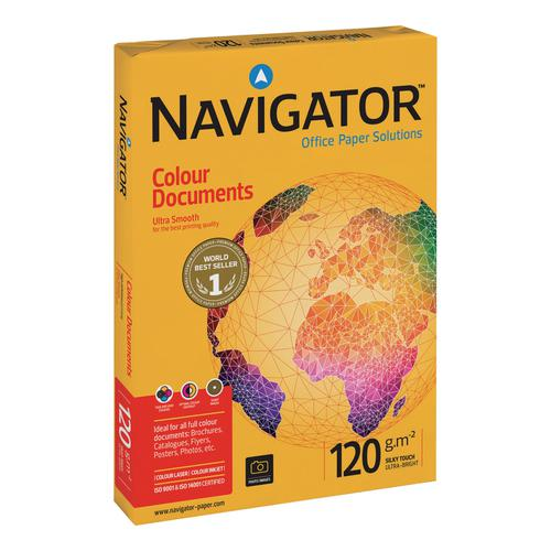 Navigator Colour Documents Paper Ream-Wrapped 120gsm A3 Wht Ref NCD1200017[500Shts][REDEMPTION]Apr-June20