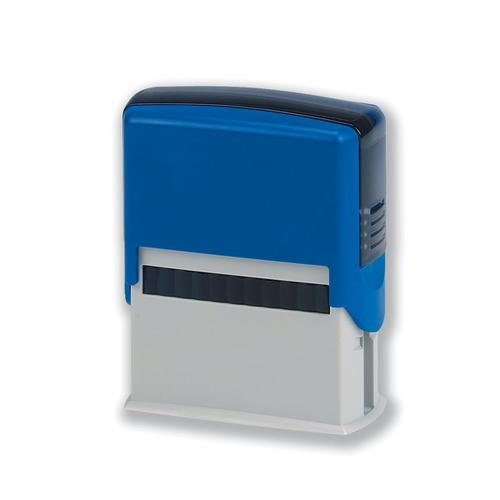 5 Star Office Custom Self-Inking Imprinter Stamp 40x15mm [4 lines]