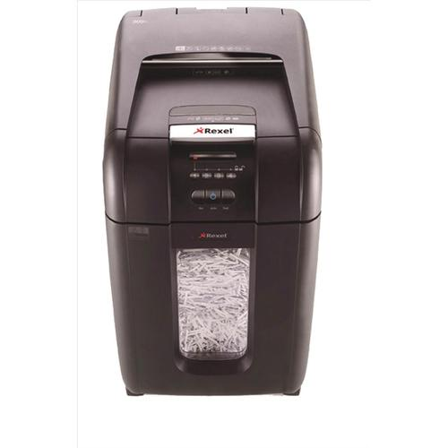 Rexel AutoPlus 300X Shredder Cross Cut P-4 Ref 2103250