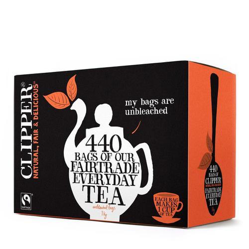 Clipper Fairtrade Everyday Tea Ref A06816 [Pack 440]