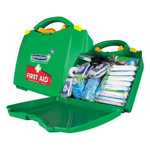 Wallace Cameron Green Box HS1 First-Aid Kit Traditional 10 Person Ref 1002278