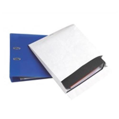 Tyvek Mailing Envelopes for Storing Lever Arch Files H318xW326xD68mm 68gsm P&S White Ref 67158 [Pack 50]
