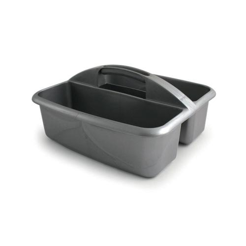 Cleaners Caddy Plastic Two Compartments W270xD325xH150mm
