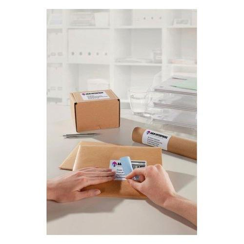 Avery Parcel Labels Laser Jam-free 2 per Sheet 199.6x143.5mm Opaque White Ref L7168-250 [500 Labels]