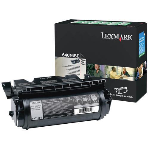 Lexmark T640/T642/T644 Laser Toner Cartridge Return Programme Page Life 6000pp Black Ref 64016SE