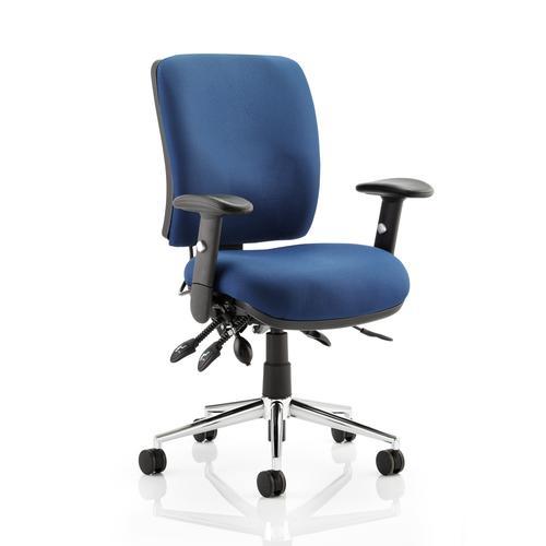 5 Star Elite Support Chiro Chair Blue 480x460-510x480-580mm Ref OP000011