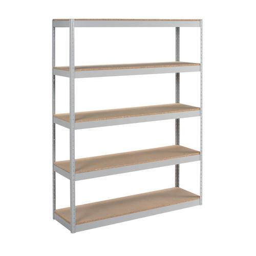 Trexus Archive Shelving Unit Heavy-duty Extra Wide 5 Shelves Capacity 100kg