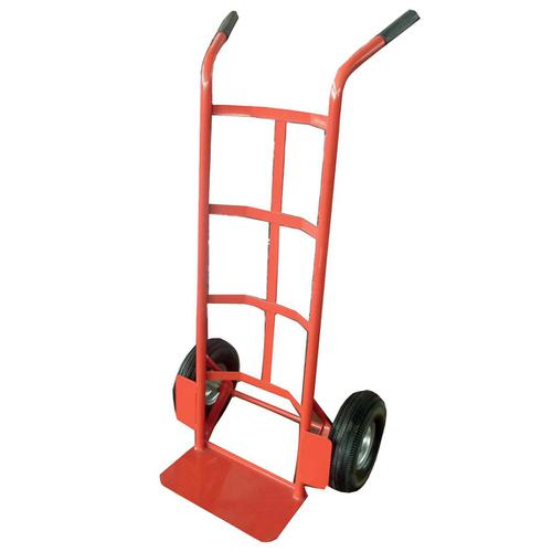 Hand Trolley Heavy-duty Capacity 200kg Wheel 255mm Foot Size W350xL200mm Red