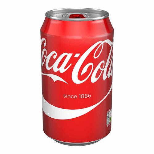 Coca Cola Coke Soft Drink Can 330ml Ref N000954 [Pack 24]