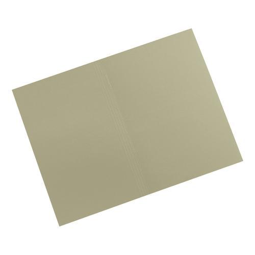 5 Star Elite Square Cut Folders 315gsm Heavyweight Manilla Foolscap Green [Pack 100]