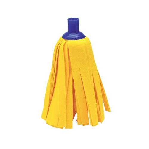 Addis Cloth Mop Head Refill Thick Absorbent Strands and Blue Socket Ref 510522