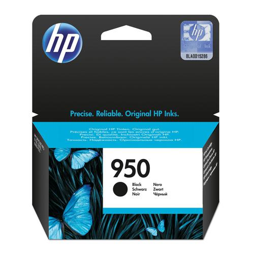 Hewlett Packard [HP] No.950 Inkjet Cartridge Page Life 1000pp 24ml Black Ref CN049AE