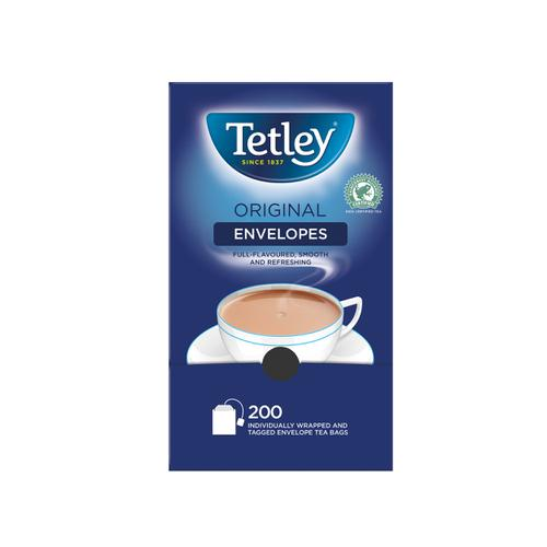 Tetley Tea Bags Tagged in Envelope High Quality Ref 1159B [Pack 200]