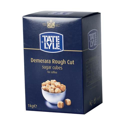 Tate & Lyle Demerara Sugar Cubes Rough-cut 1Kg Ref A03903