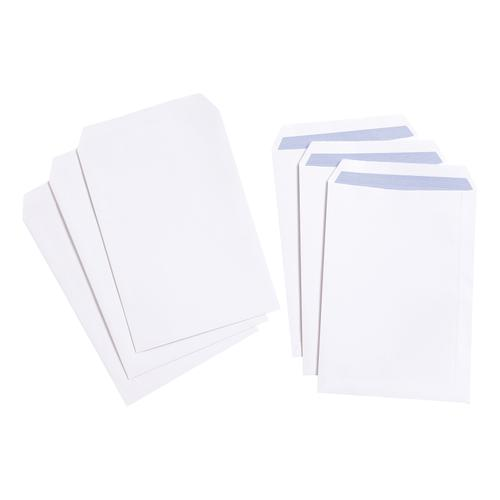 5 Star Value Envelope C4 Pocket Self Seal 100gsm White [Pack 250]