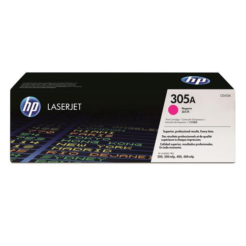 HP 305A Laser Toner Cartridge Page Life 2600pp Magenta Ref CE413A