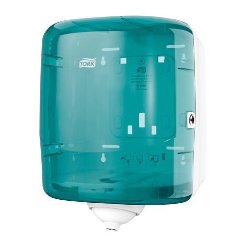 Tork Reflex Single Sheet Centrefeed Dispenser W255xD239xH331mm Plastic Blue Ref 473180