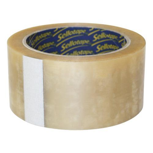 Sellotape Case Sealing Tape Vinyl 50mm x 66m Clear Ref 8517 [Pack 6]