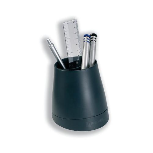 Rexel Agenda 2 Pen Pot Charcoal Ref 2101025