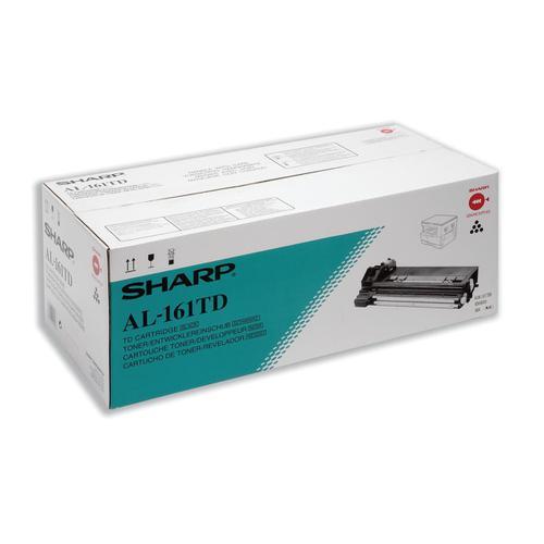 Sharp Laser Toner Cartridge Page Life 9000pp Black Ref AL161TD