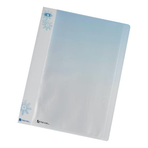 Rexel Ice Display Book Polypropylene 40 Pockets A4 Clear Ref 2102041 [Pack 10]