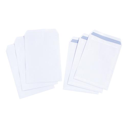5 Star Value Envelope C4 Pocket Self Seal 90gsm White [Pack 250]