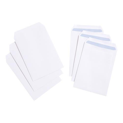 5 Star Value Envelope C5 Pocket Self Seal 90gsm White [Pack 500]