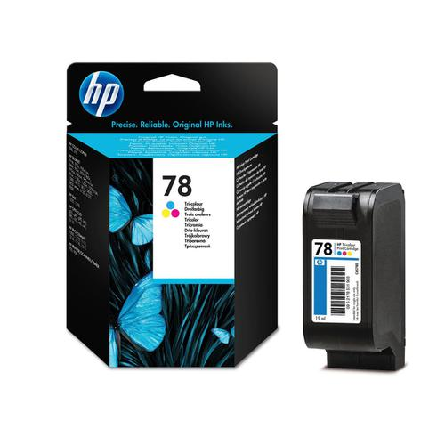 Hewlett Packard [HP] No.78 Inkjet Cartridge Page Life 560pp 19ml Tri-Colour Ref C6578D