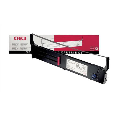 OKI Ribbon Cassette Fabric Nylon Black [for 4410] Ref 40629303