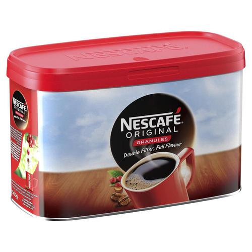 Nescafe Original Instant Coffee Granules Tin 500g Ref 12315337