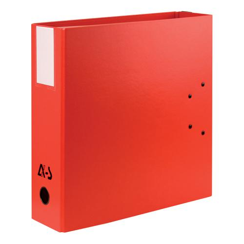 Arianex Double Capacity Lever Arch Files File 2x50mm Spines A4 Red Ref DA4-RD