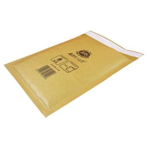 Jiffy Airkraft Bubble Bag Envelopes Size 6 290x445mm Gold Ref JL-GO-6 [Pack 50]